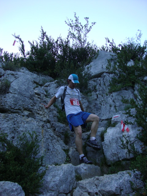 Trail du Verdon 2012, down we go