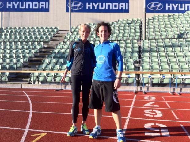 Bislett Training Session with Hedda