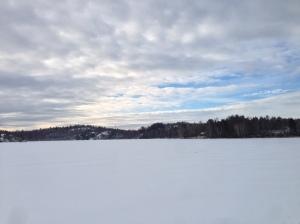 Oxsjön on a beautiful Sunday morning!