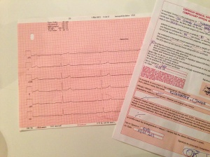 Electrocardiogram and Medical Certificate.