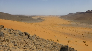 View from the Djebel Zireg, around 16,5k into leg 4.
