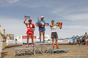 Male top three; 1) Mohammed Ahansal, 2) Salameh Al Aqra and 3) Miguel Capo Soler.