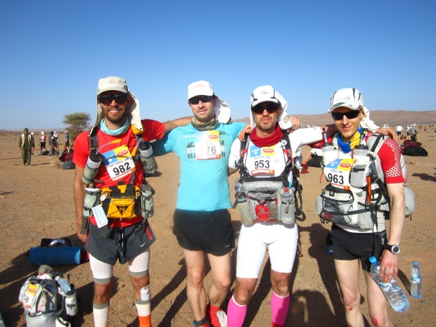 The rest of Team Sweden. Left to right: Marcus, Aries, Johan and Tomas.