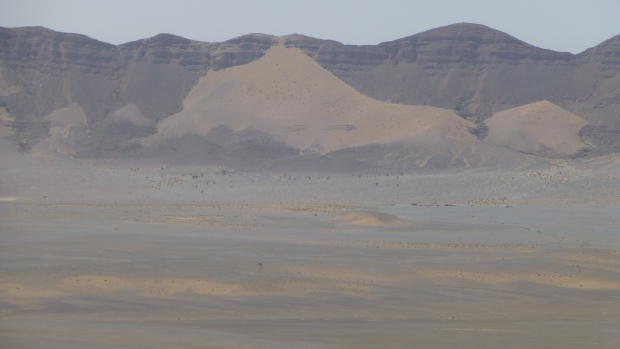 Jebel Otfal in the distance.