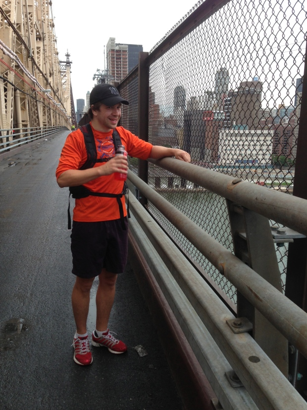 OK, he wasn't able to run this year, but he HAS been to Queensboro Bridge.