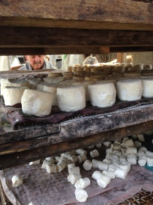 No visit to France is complete without a visit to the local Chevre-maker.