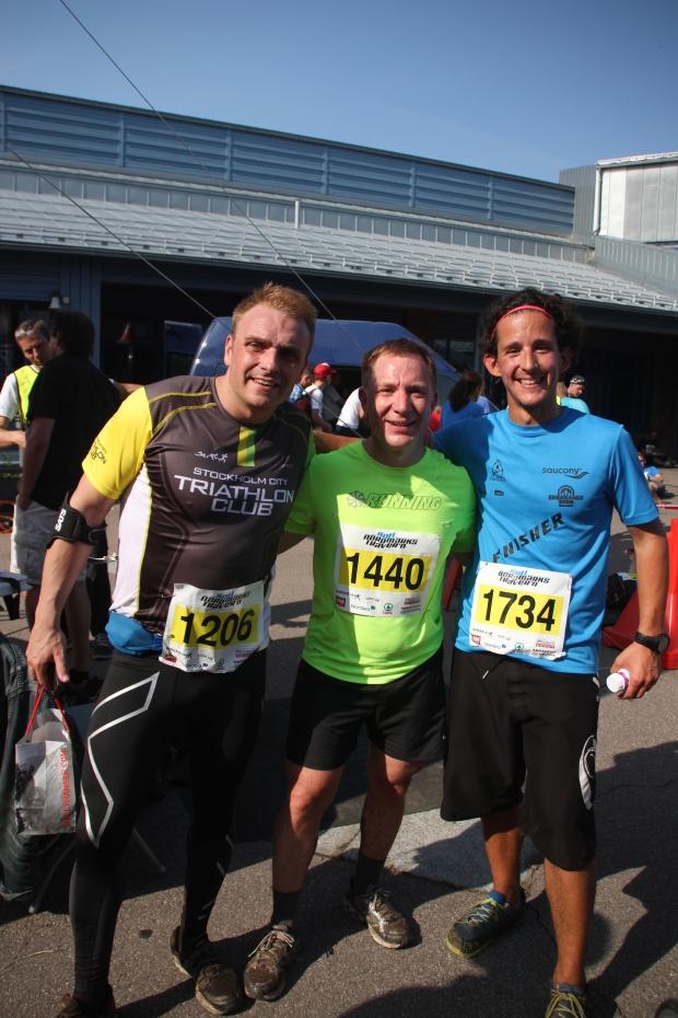 Niklas, Stefan och Jakob