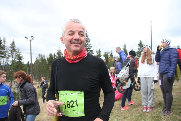The only runner in Norway sporting an Alesia Trail-buff. Guaranteed.