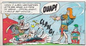 Vercingetorix and Julius Caesar, Asterix style