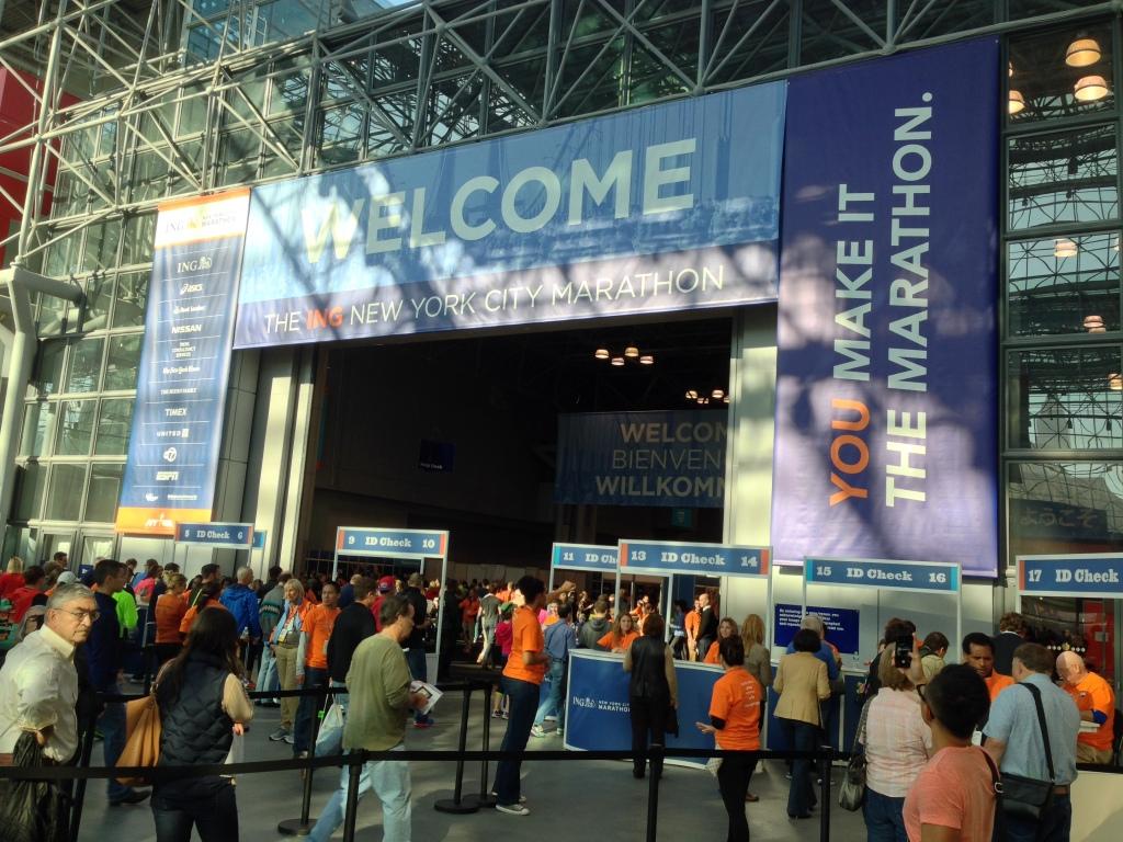 Expo entrance, American version