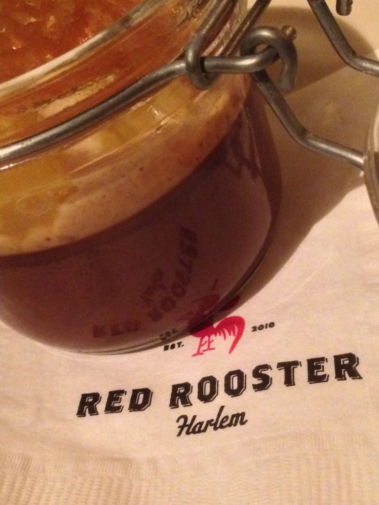 After-race chocolate dessert at Red Rooster's