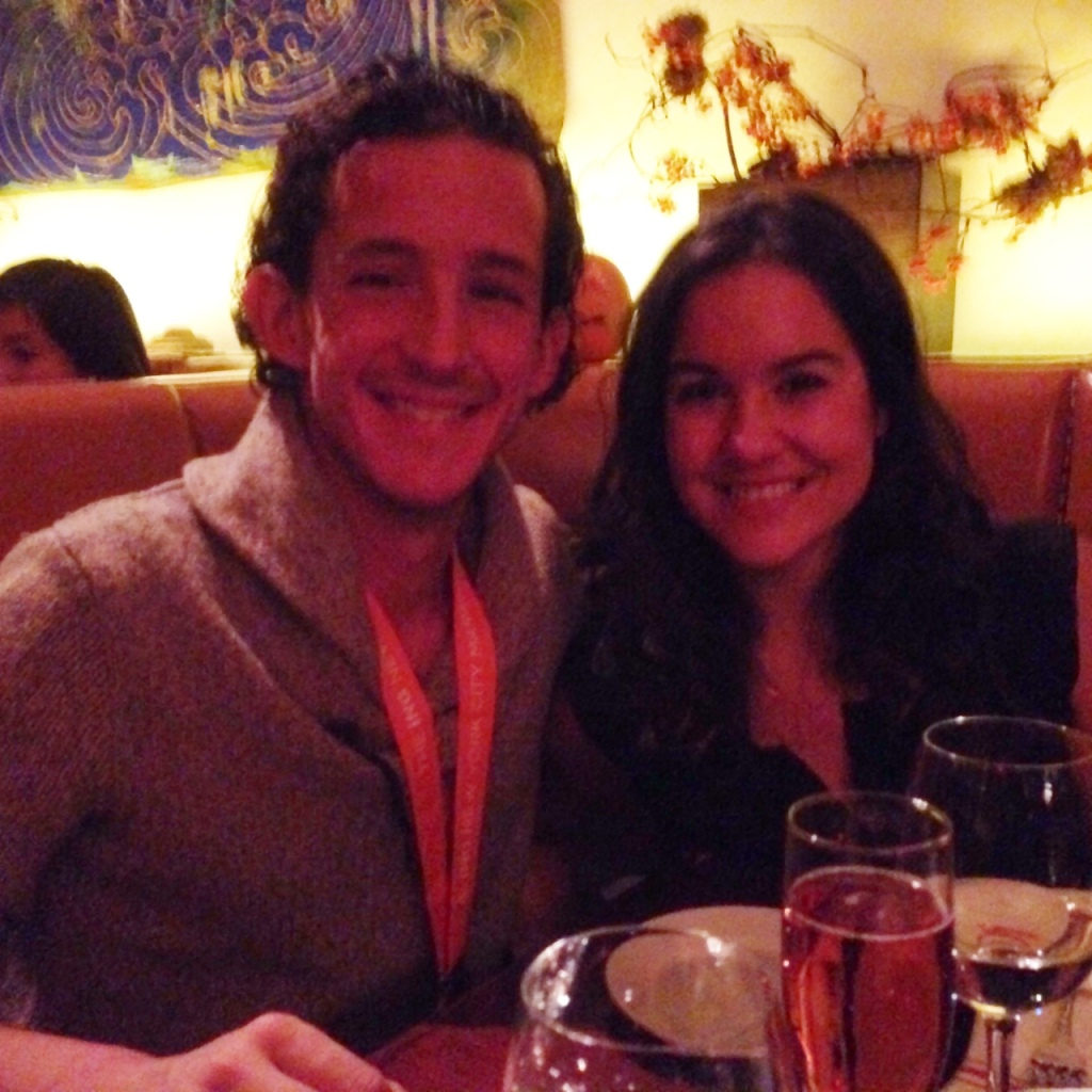 Celebratory dinner at Red Rooster. Lovely.