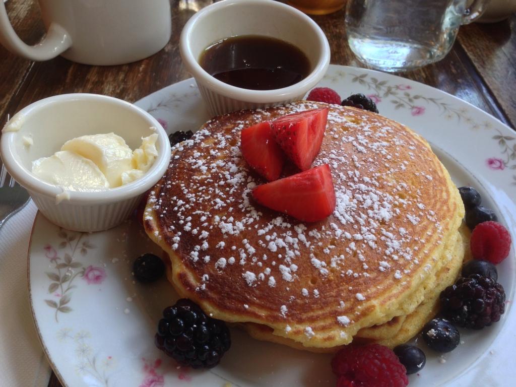 Second breakfast...