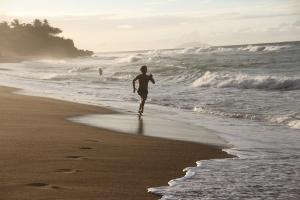 Sand training on Puerto Rico.