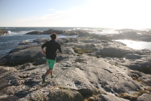 Island hopping on Marstrand in August.