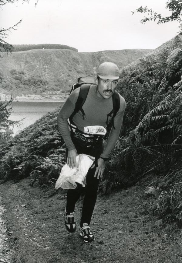 Two-time Spartathlon winner Rune Larsson.