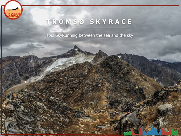 Kilian and Emelie's Skyrace in Tromsø.